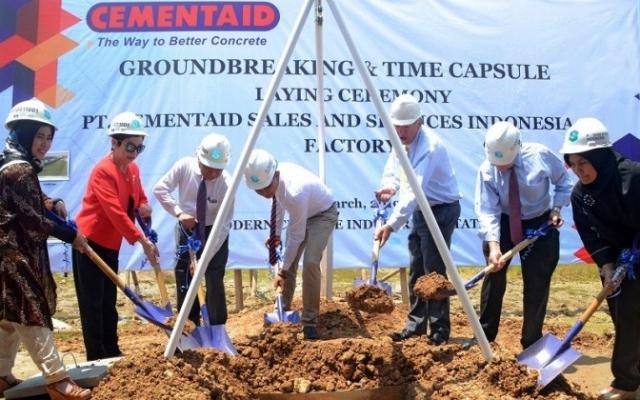 Jadi Leader di  Produsen Material Aditif Bangunan, Cementaid Bangun Pabrik Lagi  di Banten